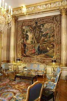 Palais de l'Elysée, ancienne chambre de Madame de Pompadour.