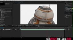 "CGI 3D Tutorials HD: ""Making of BB8 in London"" by Dean Wright"