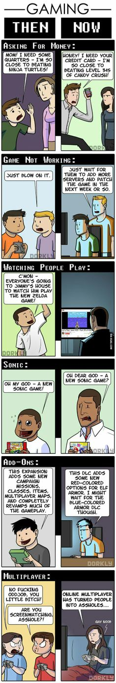 gaming ... then & now