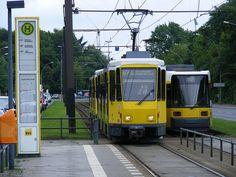 Trams, Berlin Wuhlheide. Août 2010