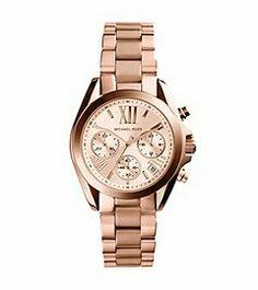 Michael Kors Bradshaw Rose Gold Watch. #MyWatch. ;)