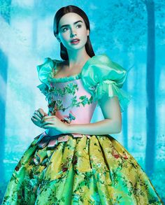 Lily Collins in Mirror Mirror. Best actor from a Snow White movie EVER.