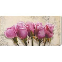 Big Co. Elena Dolci 'Royal Roses' Stretched Art