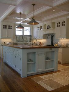 Traditional Island Style kitchen, cabinets, Robert Hughes, Other Jenny's Kitchen, Kitchen Words, Kitchen Ideas, Kitchen Cabinets, Interior Design Kitchen, Interior Decorating, Transitional House, Nautical Home, The Ranch