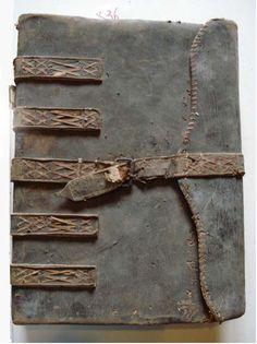 Italian ledger bindings (13th -- 17th c)