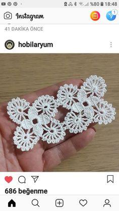 Irish lace Irish crochet flower motives, off white flower Crochet Squares Afghan, Crochet Granny, Crochet Motif, Irish Crochet, Crochet Designs, Crochet Doilies, Easy Crochet, Crochet Flowers, Crochet Lace
