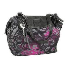 Fox Racing Black  Comeback Tote  Purse Handbag