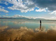 Alone on the Inch-Beach (Ireland)