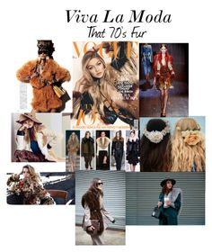 """That 70's Fur"" by xviva-la-modax on Polyvore"