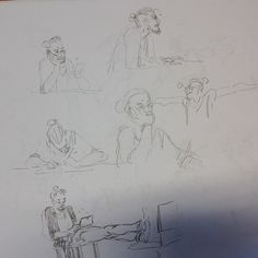 #sketches of myself #waiting