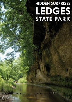 How many of these hidden surprises at Ledges State Park have you seen?   Iowa DNR