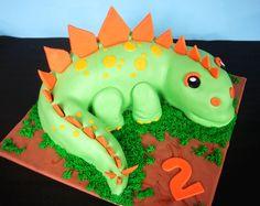butter hearts sugar: Dinosaur Birthday Cake