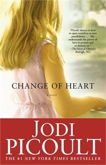 Change of Heart - Jodi Picoult.  Weird and different from her other books I've read.  Can't decide if I like it because it's so far-fetched.