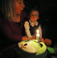 Heidi's Baking Frenzy: A Taste of Honey Second Child, My Baby Girl, Birthday Candles, Honey, Baking, Children, Second Baby, Young Children, Boys