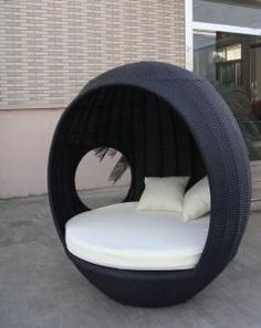 Image result for outdoor pod lounge chair daybed