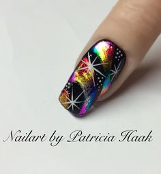 Rainbow nail-art by Patricia Haakhttps://www.facebook.com/Nailart-by-Patricia-Haak-779085605532657/