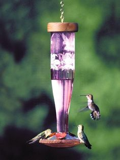 Paradise Amethyst Hummingbird Feeder