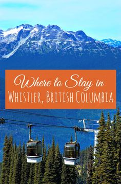 The four season resort village of Whistler, British Columbia, boasts accommodation choices for every taste and budget. These six family-friendly hotels will meet the needs of your travelling brood - winter, spring, summer or fall! | family travel | summer vacation