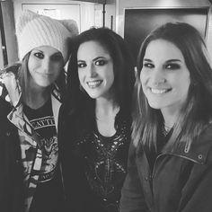 Goddess of Metal: Cristina,Alissa and Charlotte