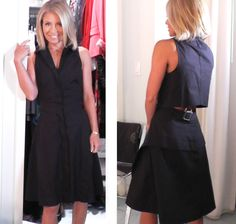 Today Kelly Ripa wore her own black Proenza Schouler Dress.