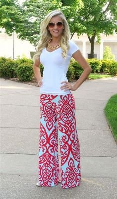 20 Style Tips On How To Wear Palazzo Pants. more here