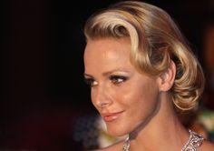 HSH Princess Charlene of Monaco was at the Red Cross Ball this evening in Monaco alongside her husband, HSH Prince Albert II. Description from royalfashionistas.com. I searched for this on bing.com/images