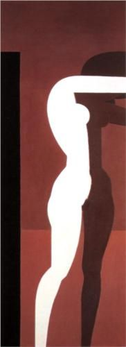 #Nude - Yiannis #Moralis #greece #painting https://www.facebook.com/PloosDesign