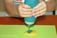 Homemade Puffy Paint with 3 Simple Ingredients ~ Learn Play Imagine