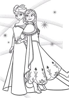 Cute Coloring Pages: Doodles coloring pages frozen Frozen Coloring Sheets, Christmas Coloring Sheets, Frozen Coloring Pages, Disney Princess Coloring Pages, Disney Princess Colors, Cute Coloring Pages, Disney Colors, Doodle Coloring, Cartoon Coloring Pages