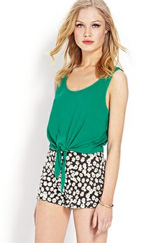 Tie-Front Tank | FOREVER 21 - 2000087893
