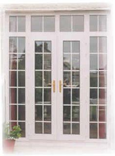 French doors - I hate my sliding patio doors. - September 28 2019 at Double Front Entry Doors, Grey Front Doors, Front Door Signs, Glass Front Door, Glass Doors, Solid Doors, French Windows, French Doors Patio, Sliding Patio Doors