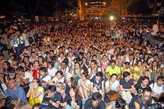 Cidadãos de Hong Kong defendem a democracia | #Democracia, #DesobediênciaCivil, #DireitosCivis, #FederaçãoDosEstudantesDeHongKong, #HongKong, #JackieHungLingyu, #Liberdade, #OcuparCentral, #SufrágioUniversal
