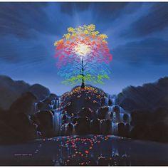 Maurice Bishop's rainbow tree