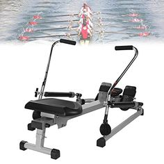 Eortzzpc Stable Rowing Machines, Rowing Machines Foldable with Data Display, 12 Magnetic Resistance Adjustment, Building Strength While Simultaneously Burning Calories 【PERFECT FITNESS EXERCISE】: This home r... Home Rowing Machine, Rowing Machines, Workout Machines, Sky Home, Major Muscles, Home Gym Equipment, Strength Training Workouts, At Home Gym, Water Tank