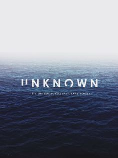 Uli - not sinking into the ocean - that's corny. But under the deep blue of the ocean.