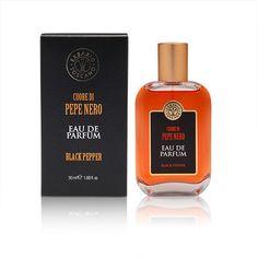 Erbario Toscano Cuore di Pepe Nero Black Pepper Eau de Parfum 50 ml Italy New #ErbarioToscano #madeinitaly