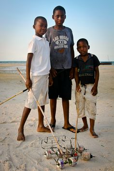 Kids, Vilankulos, Mozambique, 2010