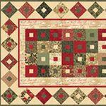 Moda: Winterlude ~ Free Pattern ~ http://www.unitednotions.com/fp_winterlude-table-runner.pdf