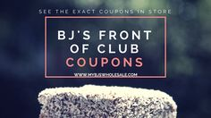 BJ's Front of Club Coupon Matchups 7/21 - 8/3 - http://www.mybjswholesale.com/2016/07/bjs-front-club-coupon-matchups-721-83.html/