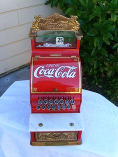 1920's Antique Coca-Cola Themed National Cash Register Model 717 MINT