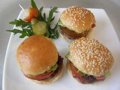 Mini Hamburguesas De Fiesta. Recetas, Recipes, Food, gastronomía, cocina...