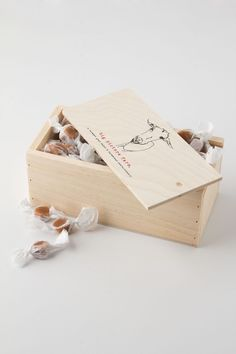 Sea Salt & Bourbon Vanilla Caramels Box