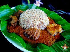 Dobbys Signature: Nigerian food blog   Nigerian food recipes   African food blog: Ofada rice stew - Ayamashe sauce recipe