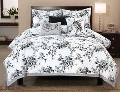 7 Best Black And White Monochromatic Home Images Bedding Sets