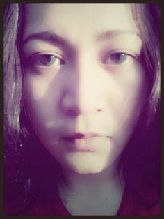 My naturals face