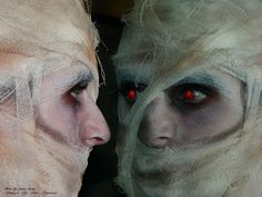 Mummy makeup Makeup by Iulia Bajenaru Photo by Iulian Tartan
