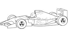 formula one free coloring book | coloring pages, race car