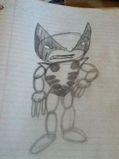 Wolverine circle sketch