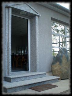 Épületmunkák - gránit ajtó keret Windows, Ramen, Window