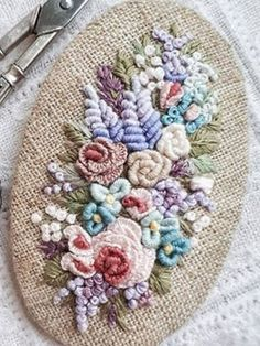 Getting to Know Brazilian Embroidery - Embroidery Patterns Bullion Embroidery, Brazilian Embroidery Stitches, Hardanger Embroidery, Learn Embroidery, Silk Ribbon Embroidery, Floral Embroidery Patterns, Embroidery Flowers Pattern, Hand Embroidery Designs, Embroidery Supplies